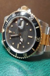 Rolex Submariner Two Tone Transitional Nipple Dial