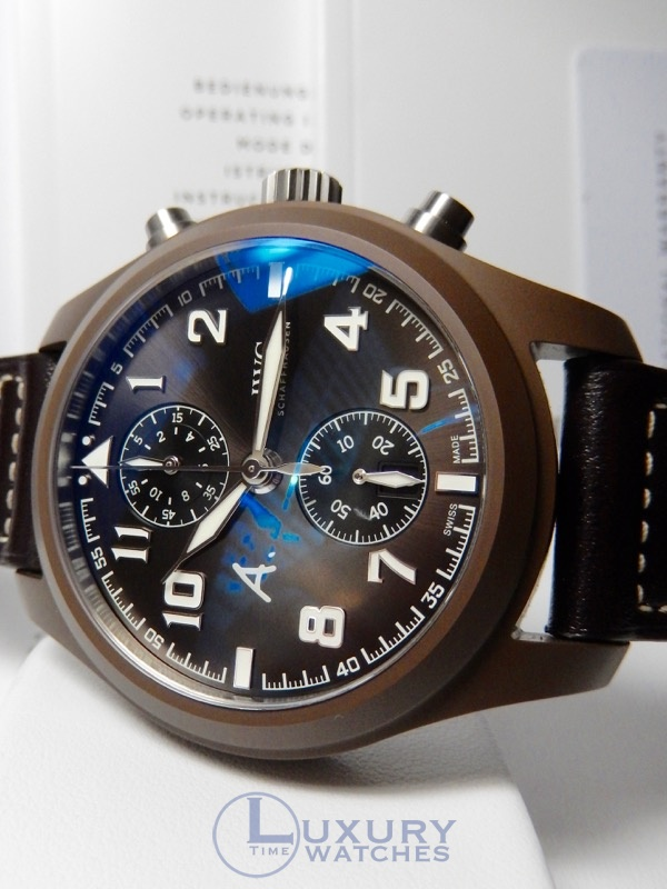IWC Pilot Chronograph St. Exupery Last Flight