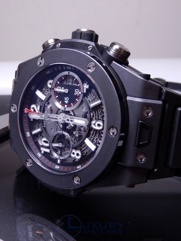 Hublot Big Bang Unico Ceramic Bracelet Black Magic