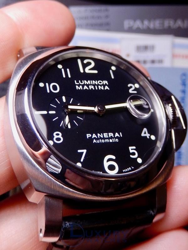 8114e2e6dda Panerai Luminor Automatic Arabic 164